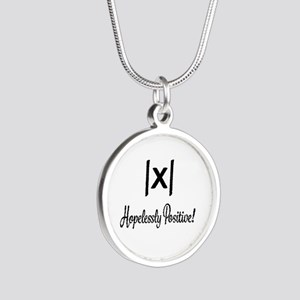 Hopelessly Positive Math Humor Necklaces