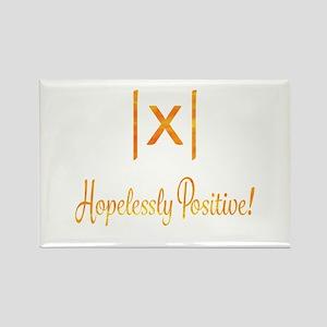 Hopelessly Positive Optimist Math Geek Magnets