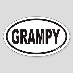 GRAMPY Euro Oval Sticker