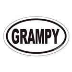 GRAMPY Euro Oval Sticker