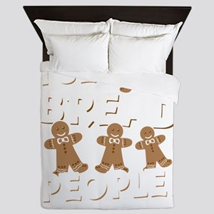 I See Bread People Christmas Queen Duvet