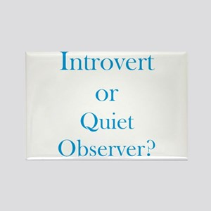 Introvert or Quiet Observer Magnets