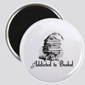 Addicted to Books! Magnet