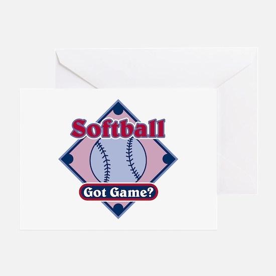 Softball Got Game? Greeting Card