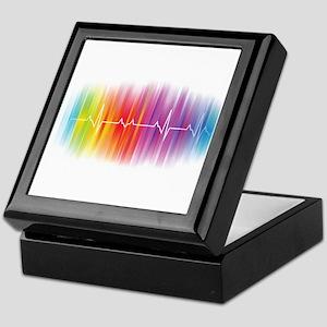 Gay Pride Pulse Keepsake Box