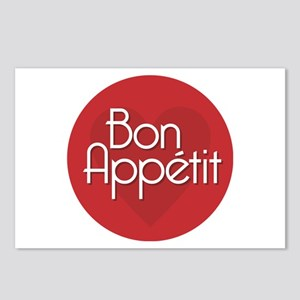 Bon Appetit Postcards (Package of 8)
