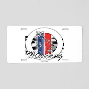 Horse Mustang Aluminum License Plate