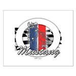 Horse Mustang Small Poster