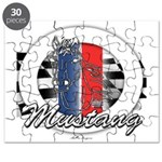 Horse Mustang Puzzle
