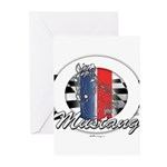 Horse Mustang Greeting Cards