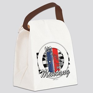 Horse Mustang Canvas Lunch Bag