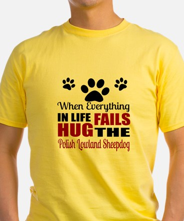 Hug The Polish Lowland Sheepdog T