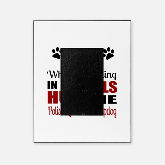 Hug The Polish Lowland Sheepdog Picture Frame