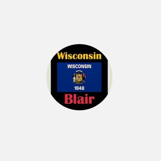 Blair Wisconsin Mini Button