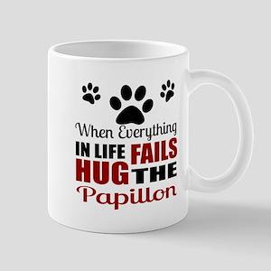 Hug The Papillon Mug