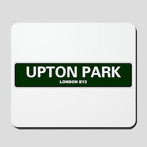 LONDON ROAD SIGNS - UPTON PARK - LONDON Mousepad