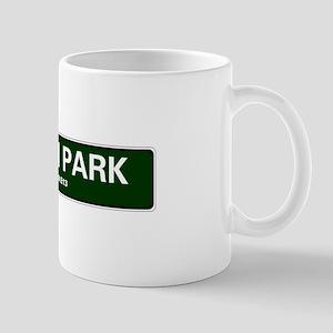 LONDON ROAD SIGNS - UPTON PARK - LONDON E13 Mugs