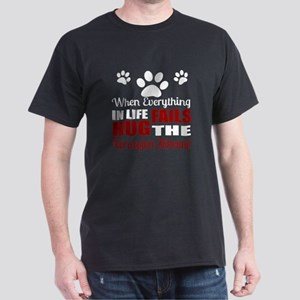 Hug The Norwegian Elkhound Dark T-Shirt