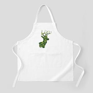 Green Camo Deer Light Apron