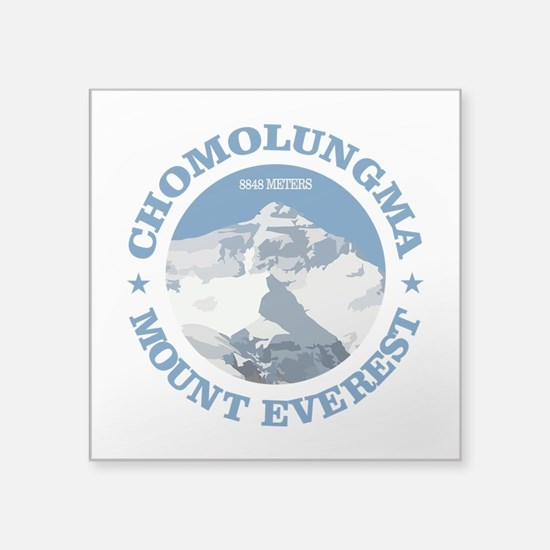 Chomolungma (Mount Everest) Sticker