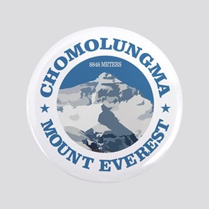 "Chomolungma (Mount Everest) 3.5"" Button"