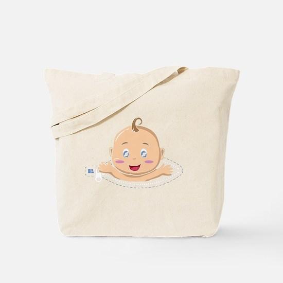 Cute Funny pregnancy Tote Bag