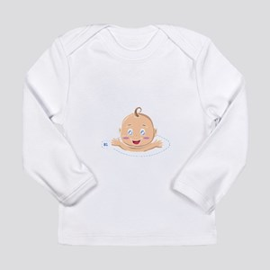 Peek A Boo Baby Long Sleeve T-Shirt