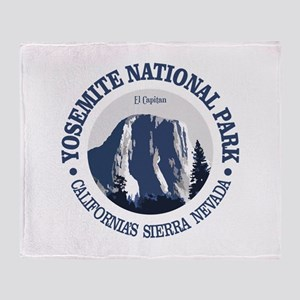 Yosemite 2 Throw Blanket