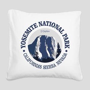 Yosemite 2 Square Canvas Pillow