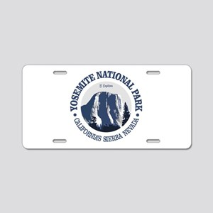 Yosemite 2 Aluminum License Plate