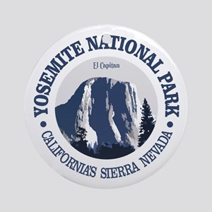 Yosemite 2 Round Ornament