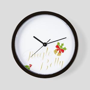 Jingle Belly Wall Clock