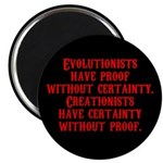 Evolutionists have proof with Magnet