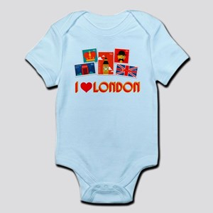 I love London Stamps Body Suit
