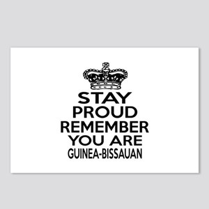 Stay Proud Remember You A Postcards (Package of 8)