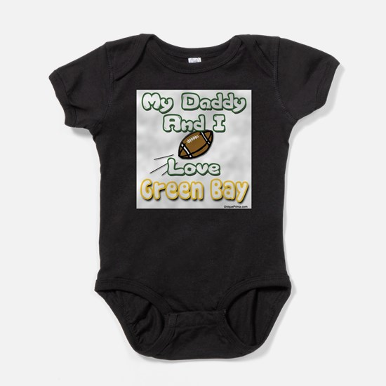 My Daddy and I Love Green Bay Body Suit