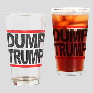 Dump Trump Drinking Glass