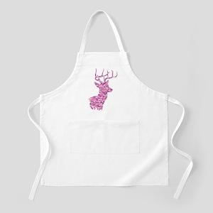 Pink Camo Deer Light Apron