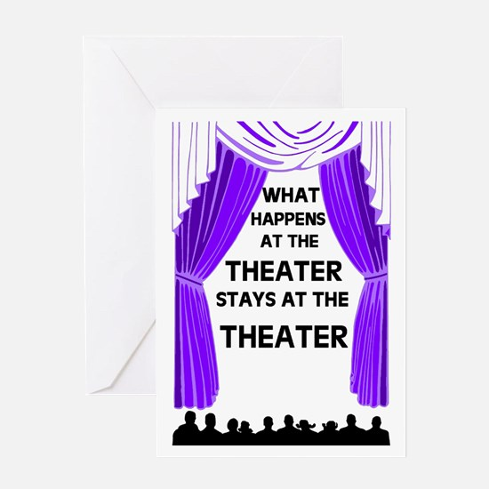 THEATER Greeting Card