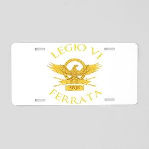 Legio VI Ferrata Aluminum License Plate