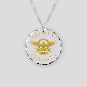 Legio VI Ferrata Necklace Circle Charm
