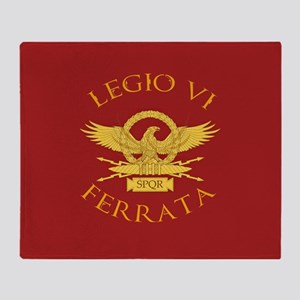 Legio VI-RED Throw Blanket