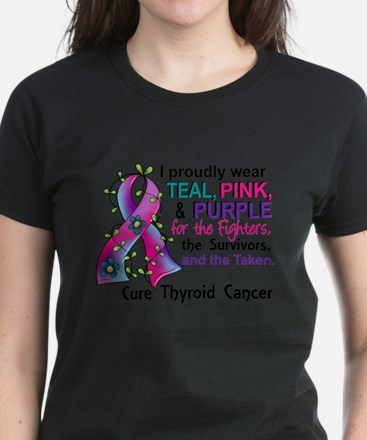 For Fighters Survivors Taken Thyroid T-Shirt