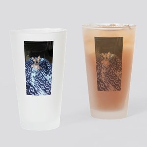 Its in blue Drinking Glass