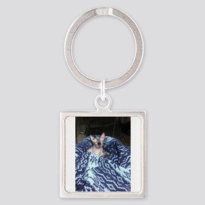 Its in blue Keychains