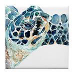 Sea Turtle #16 Tile Coaster