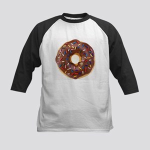 Frosted donut with sprinkles Baseball Jersey