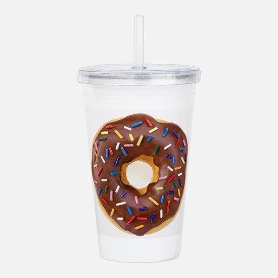 Frosted donut with sprinkles Acrylic Double-wall T
