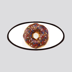 Frosted donut with sprinkles Patch