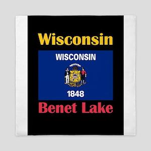 Benet Lake Wisconsin Queen Duvet